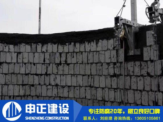 煙囪內壁防(fang)腐(fu)(頂口封磚)